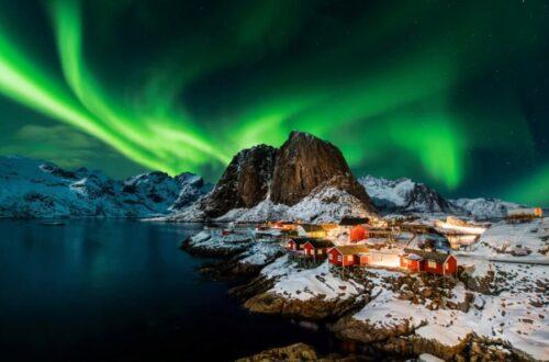 Norwegen-Polarlichter