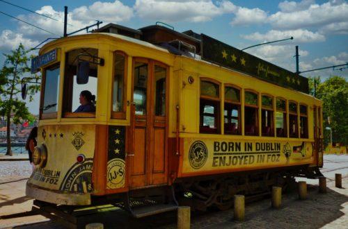 Historische Strassenbahn in Porto
